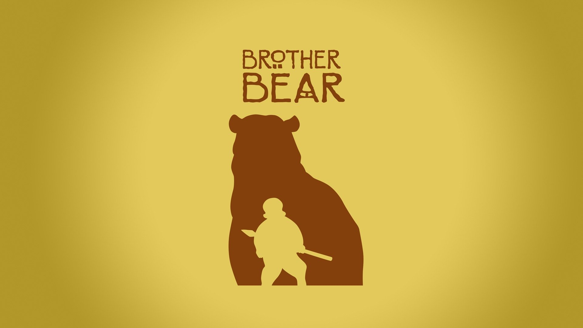 brother bear movie logo wallpaper 64206