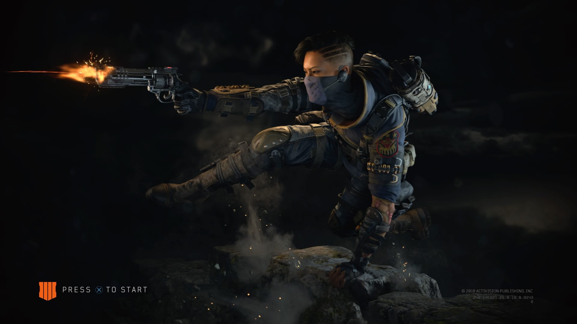Call of Duty Black Ops 4 Start Screen