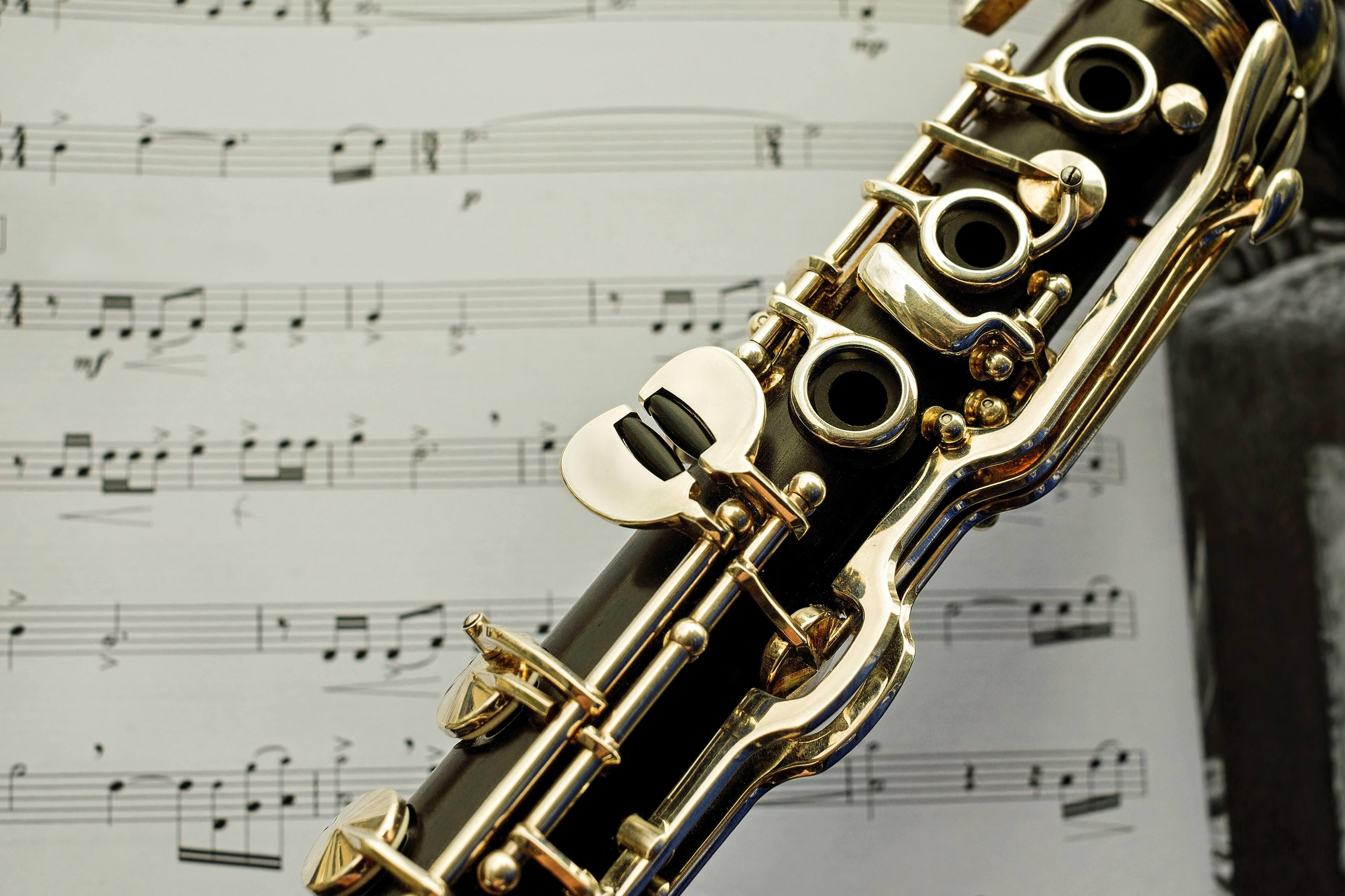 clarinet instrument wallpaper background hd 63235