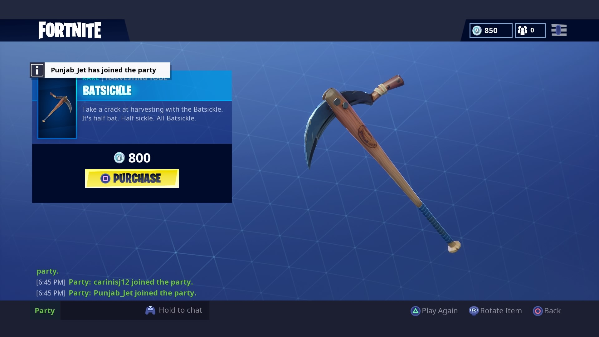 fortnite batsickle wallpaper 65383