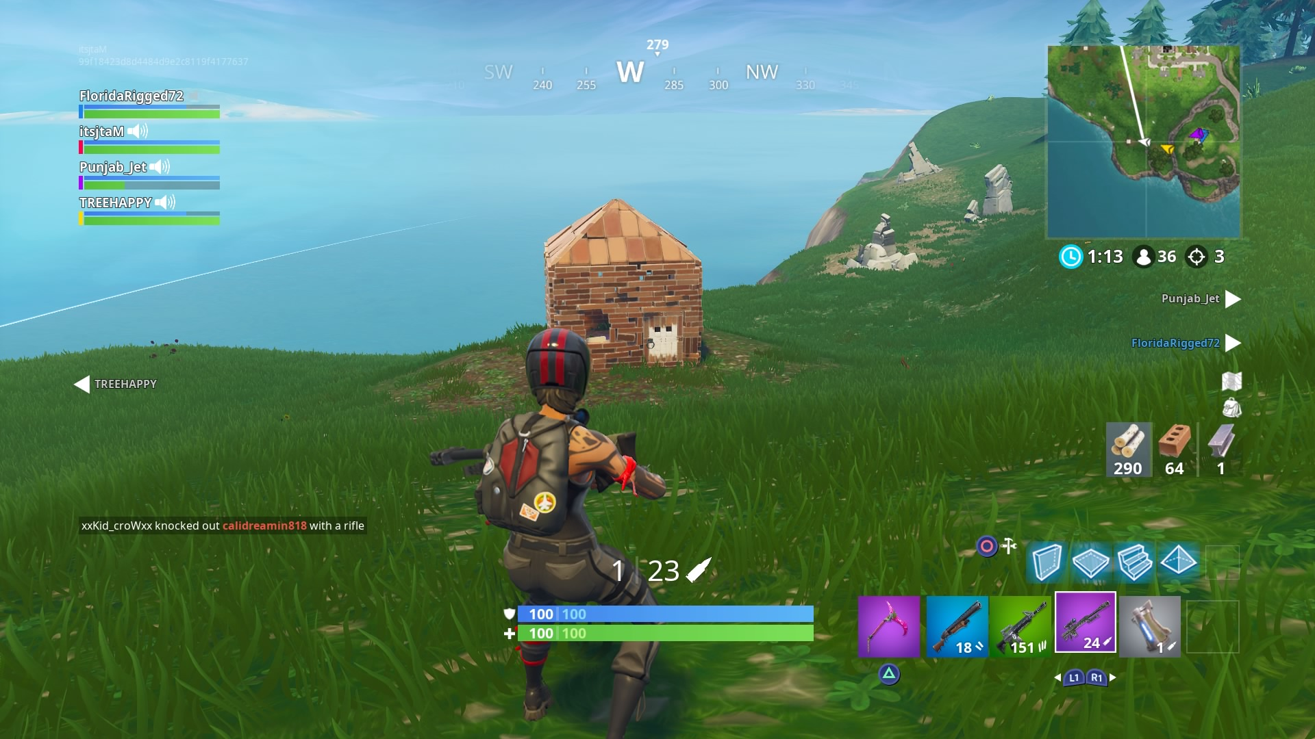 fortnite little house wallpaper 65395