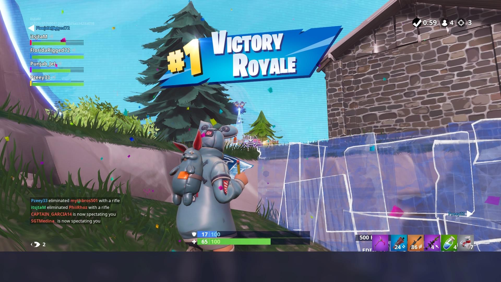 fortnite squad victory wallpaper 65824