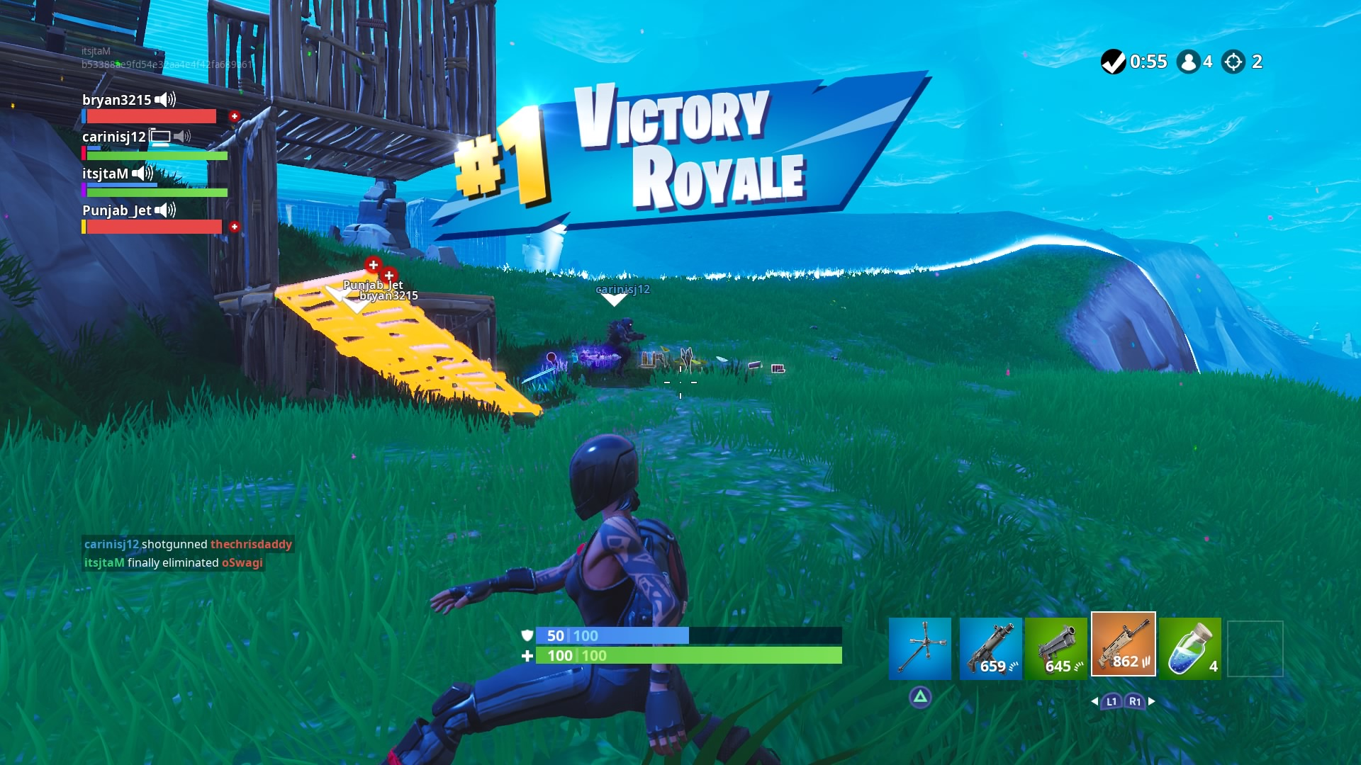 fortnite victory hd wallpaper 65386