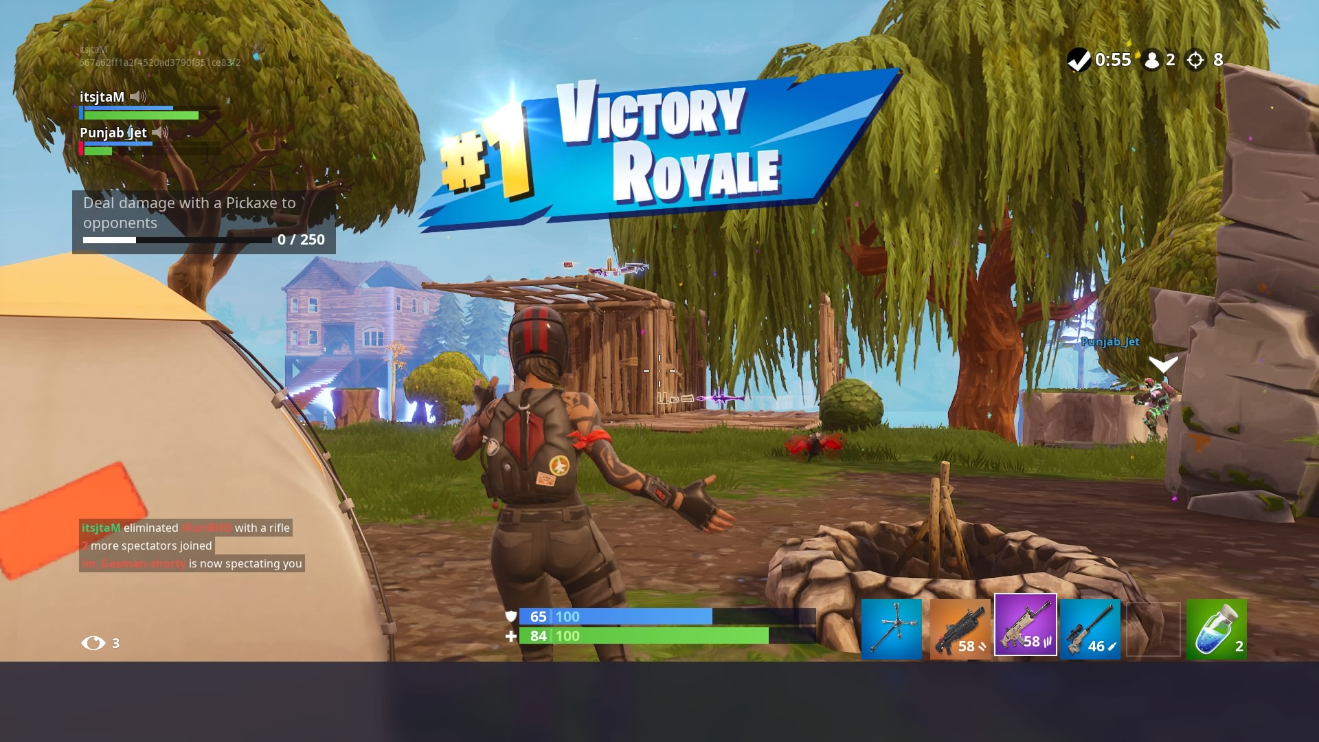 fortnite victory wallpaper 65381