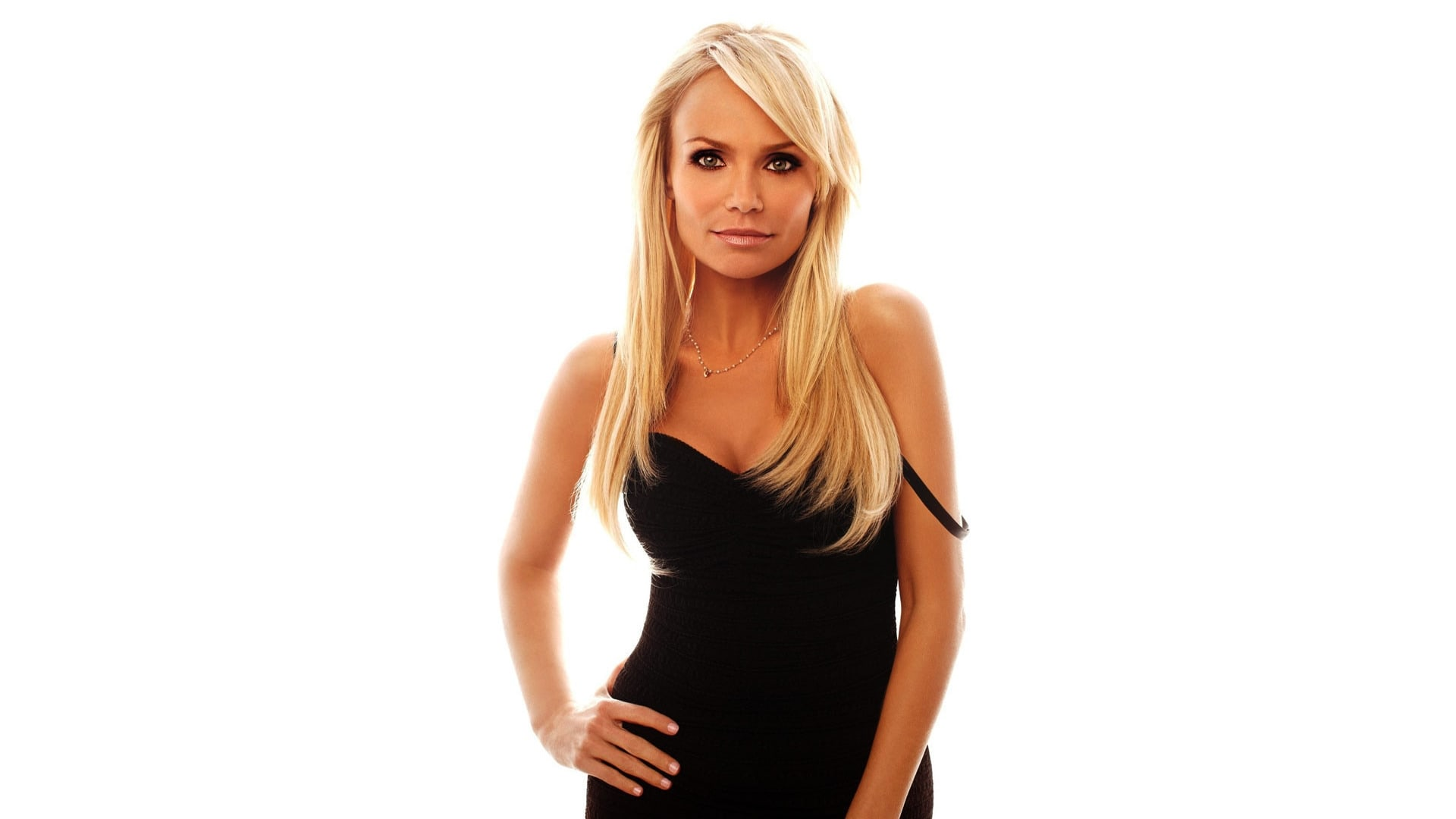 kristin chenoweth black dress wallpaper 65615