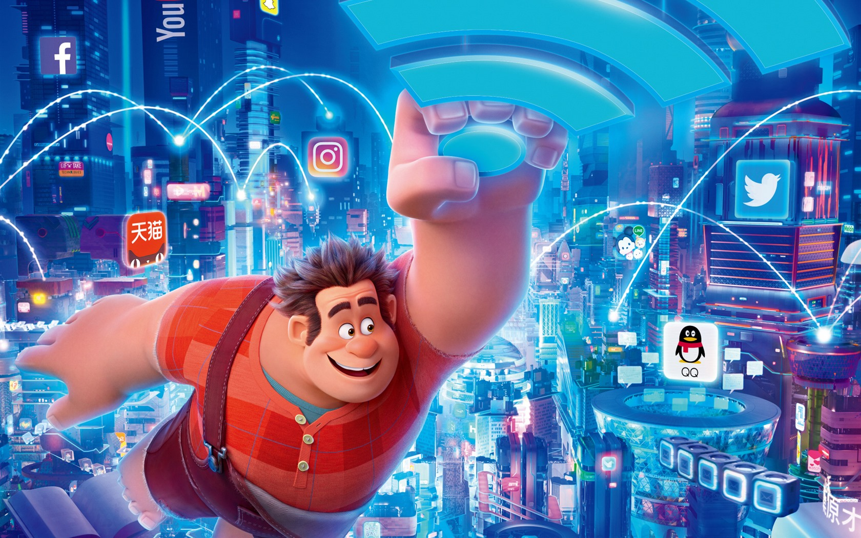 ralph breaks the internet movie computer wallpaper 66134