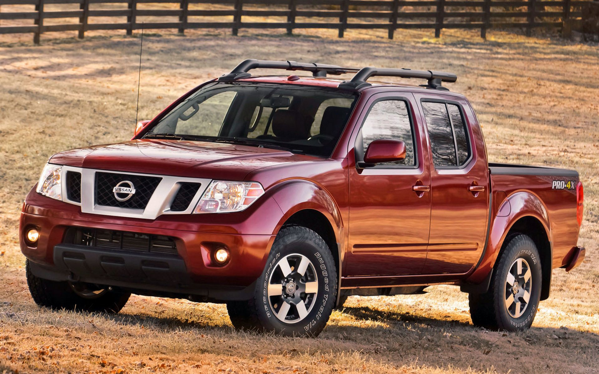 red nissan frontier wallpaper 65922