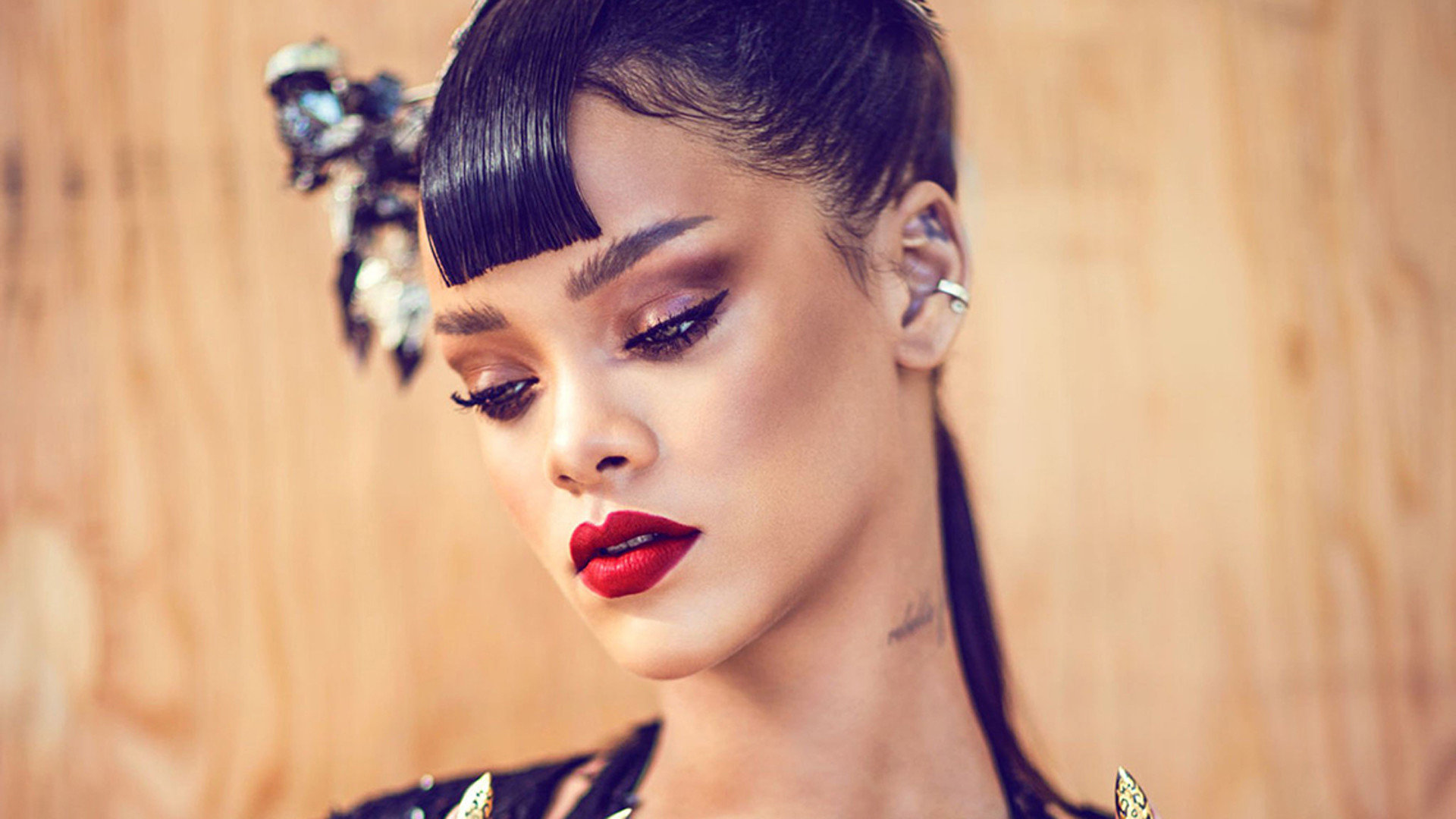rihanna hairstyle wallpaper 65524