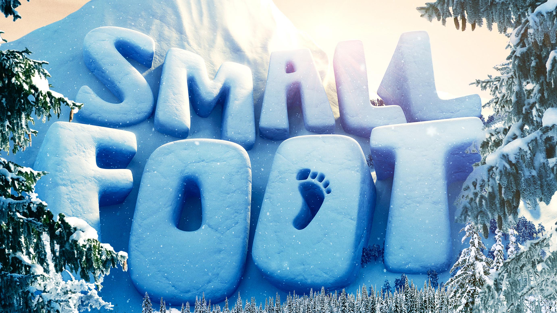 smallfoot movie logo wallpaper 65408
