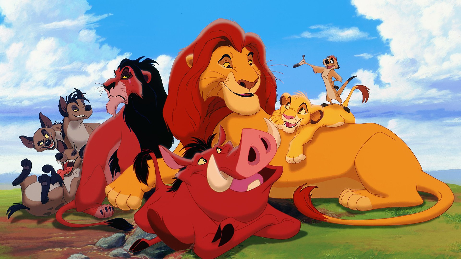 The Lion King Movie Characters Wallpaper 64217 1920x1080px