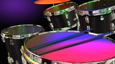 3D Drums Wallpaper 63226