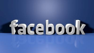 3D Facebook Logo Wallpaper 62726