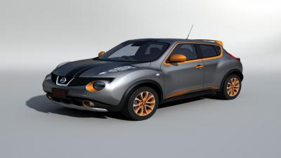 3D Nissan Juke Model Wallpaper 65902