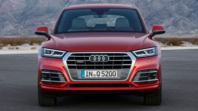 Audi Q5 Front View Wallpaper 66000