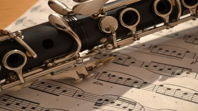 Clarinet Up Close Widescreen Wallpaper 63234