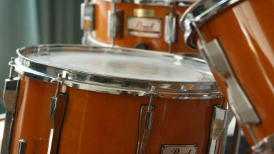 Drums Up Close Widescreen Wallpaper 63228