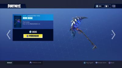 Fortnite Iron Beak Wallpaper 65398