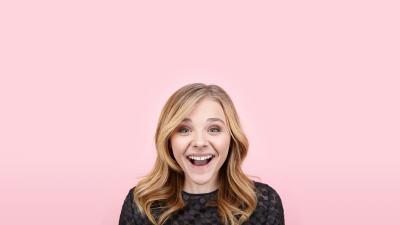Happy Chloe Grace Moretz Wallpaper 63210
