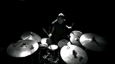 Monochrome Playing Drums Wallpaper 63224