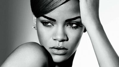 Monochrome Rihanna Wallpaper 63361