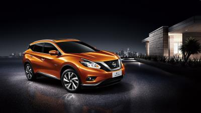 Orange Nissan Murano HD Wallpaper 65911