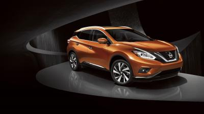 Orange Nissan Murano Wide Wallpaper 65909
