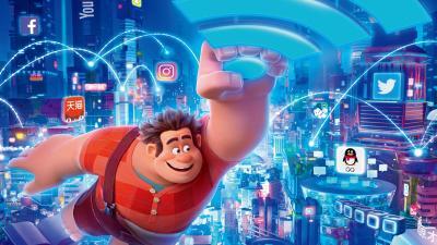 Ralph Breaks the Internet Movie Computer Wallpaper 66134