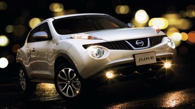White Nissan Juke Wallpaper 65900