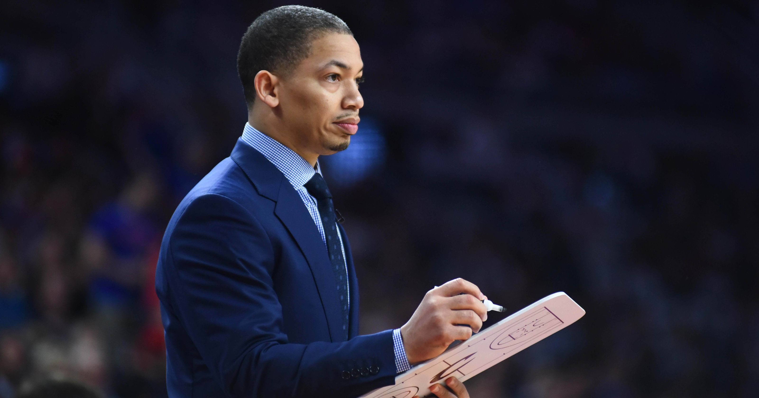 Tyronn Lue made extra sure to shoutout his hometown of Mexico Missouri during the NBA Finals after winning the championship