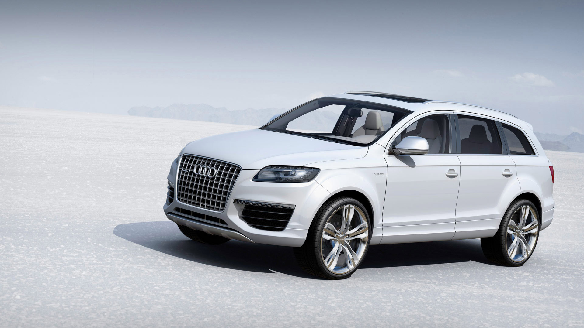 white audi q5 wallpaper 66009