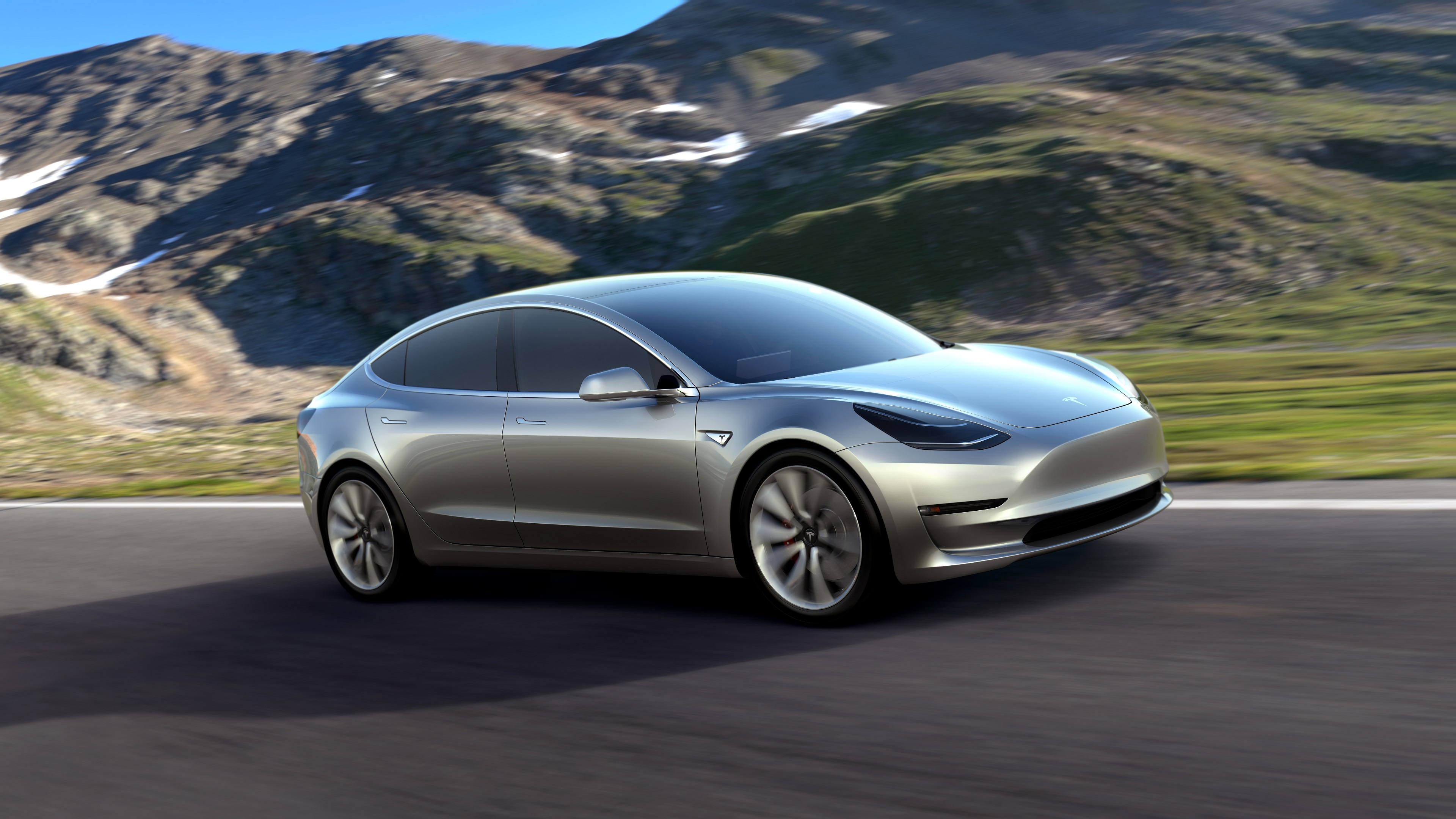 4k tesla model 3 wallpaper 66050