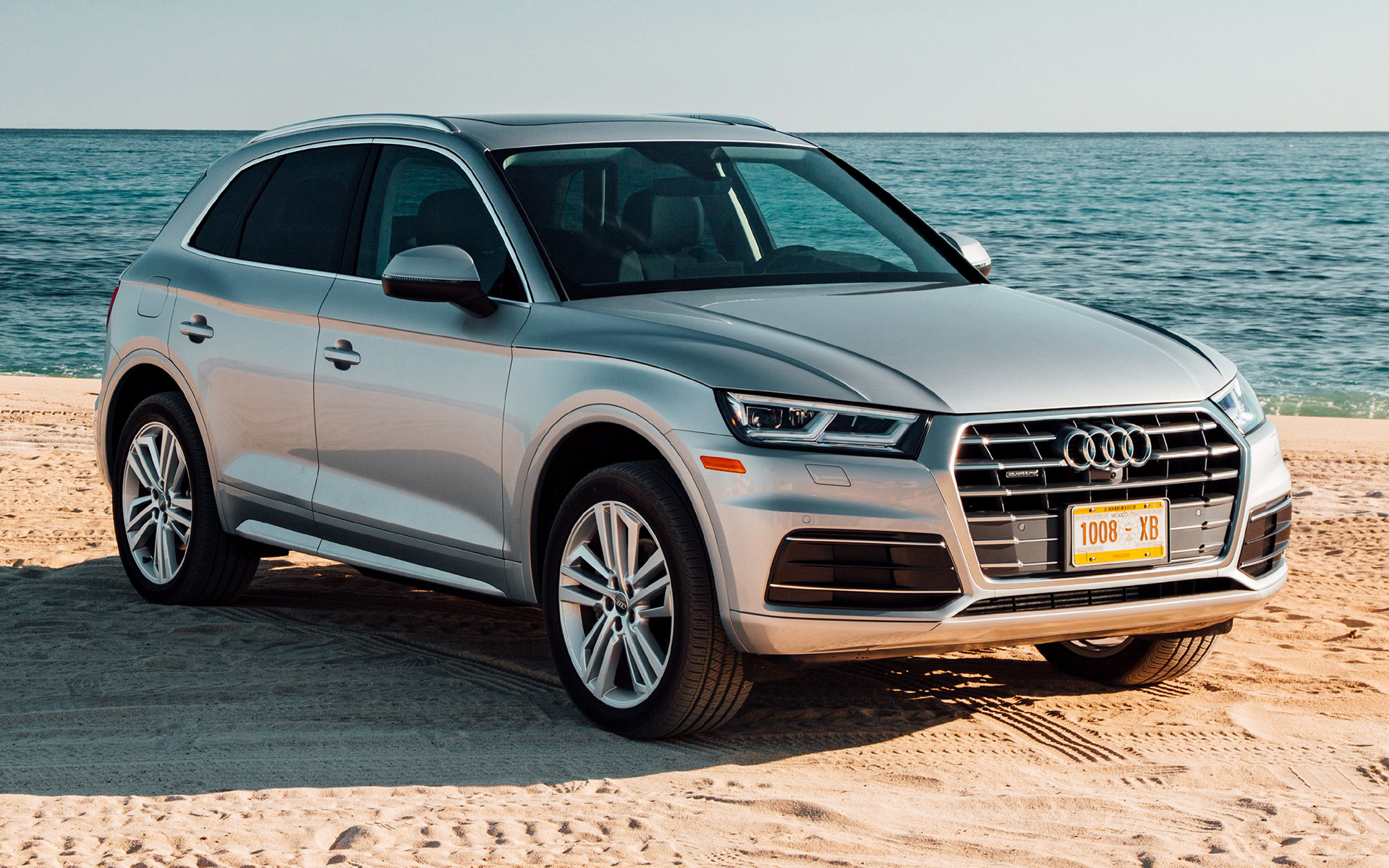 audi q5 beach wallpaper 66017