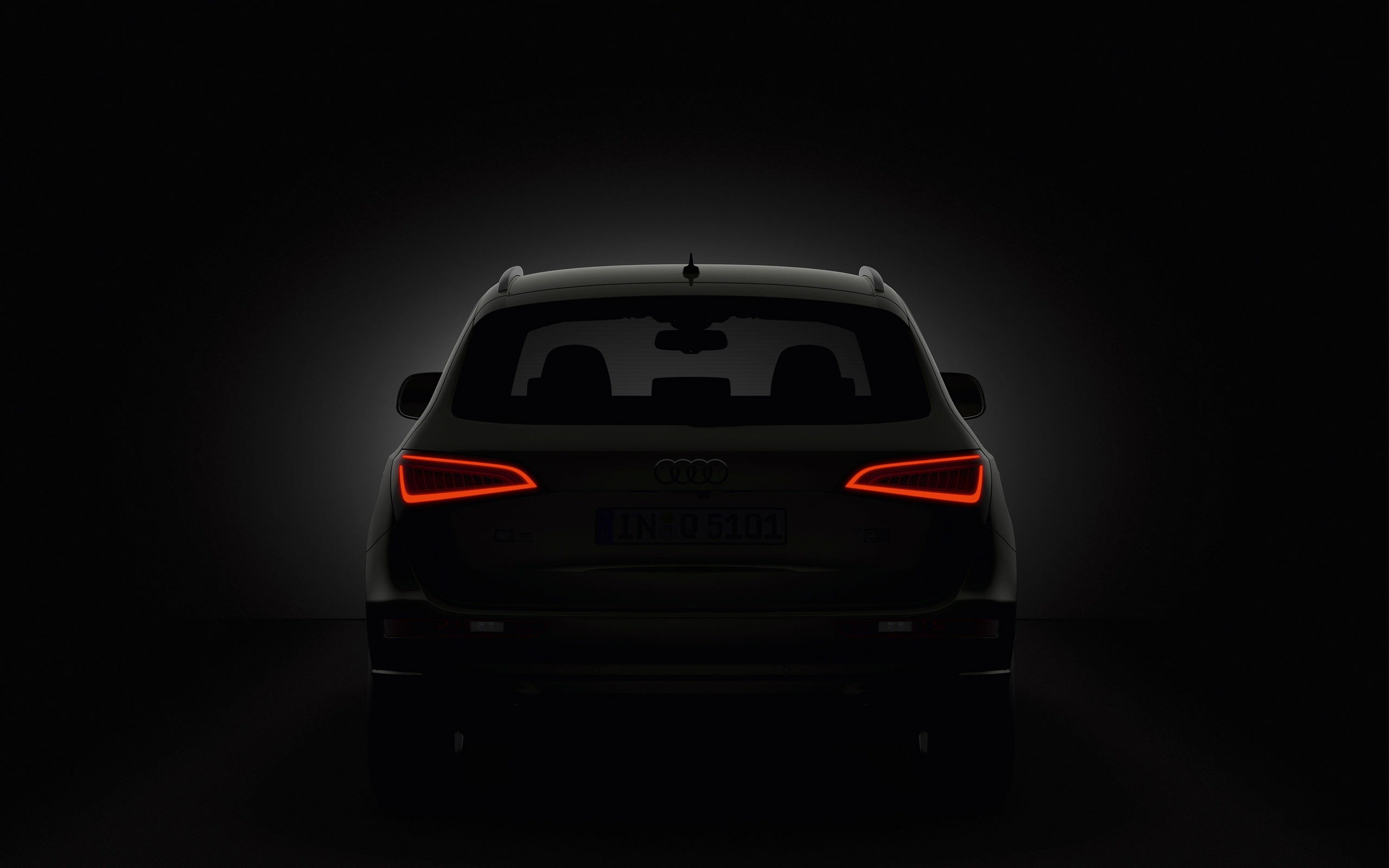 audi q5 taillights wallpaper 66020