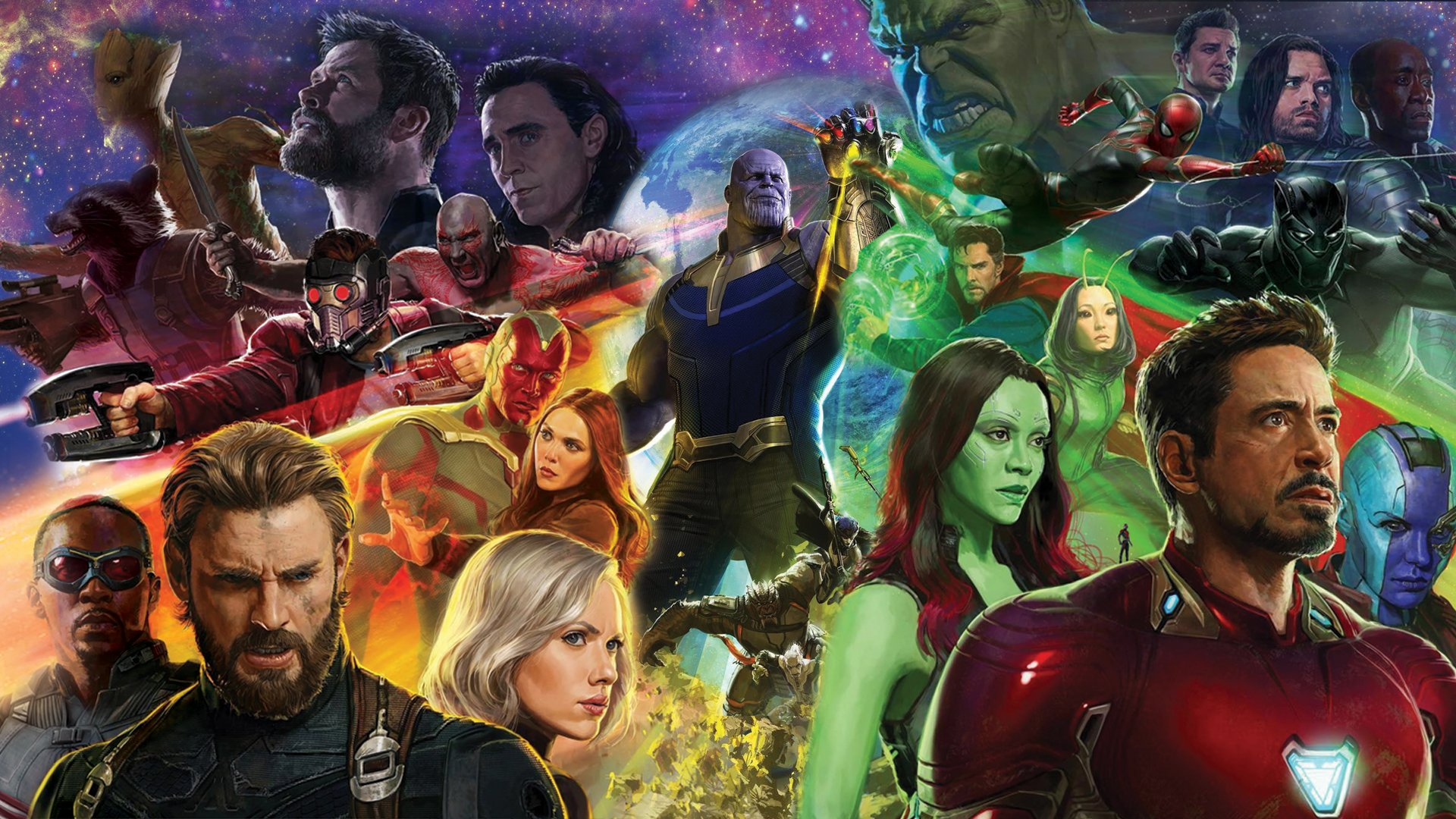 avengers infinity war desktop wallpaper 63590