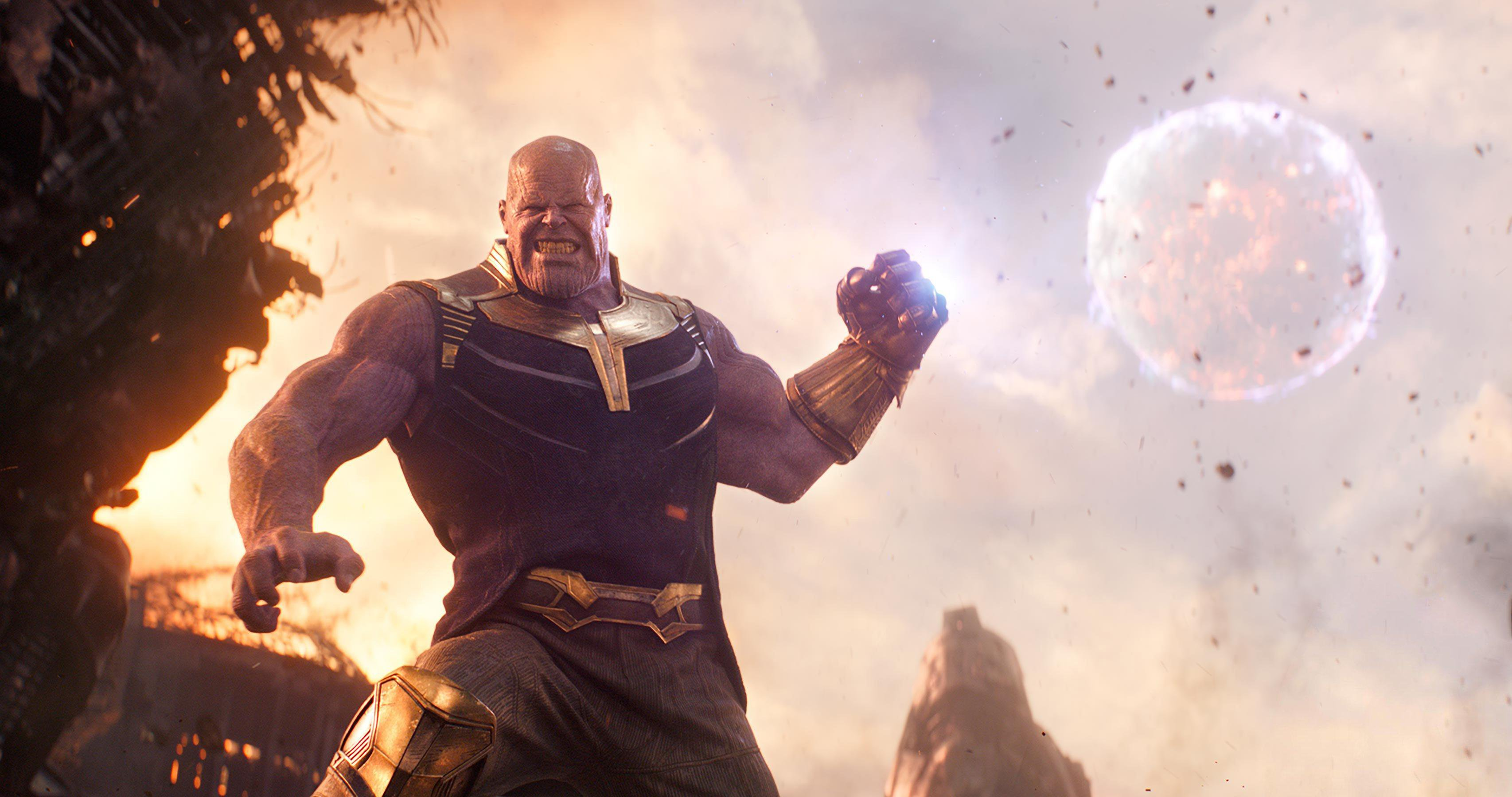 Avengers Infinity War Thanos Wallpaper 63589 3412x1800px