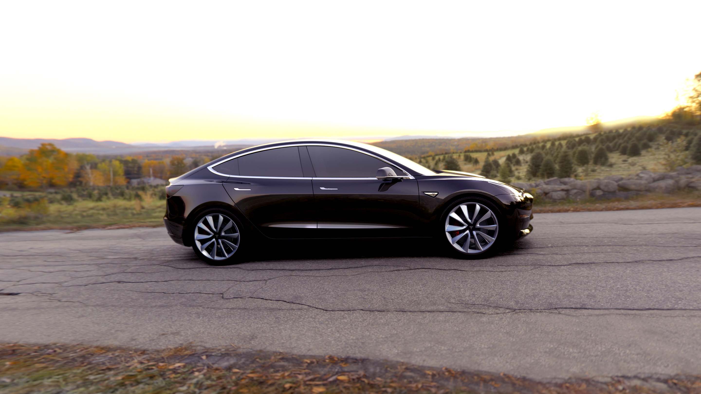 Black Tesla Model 3 Wallpaper 66047 2880x1620px