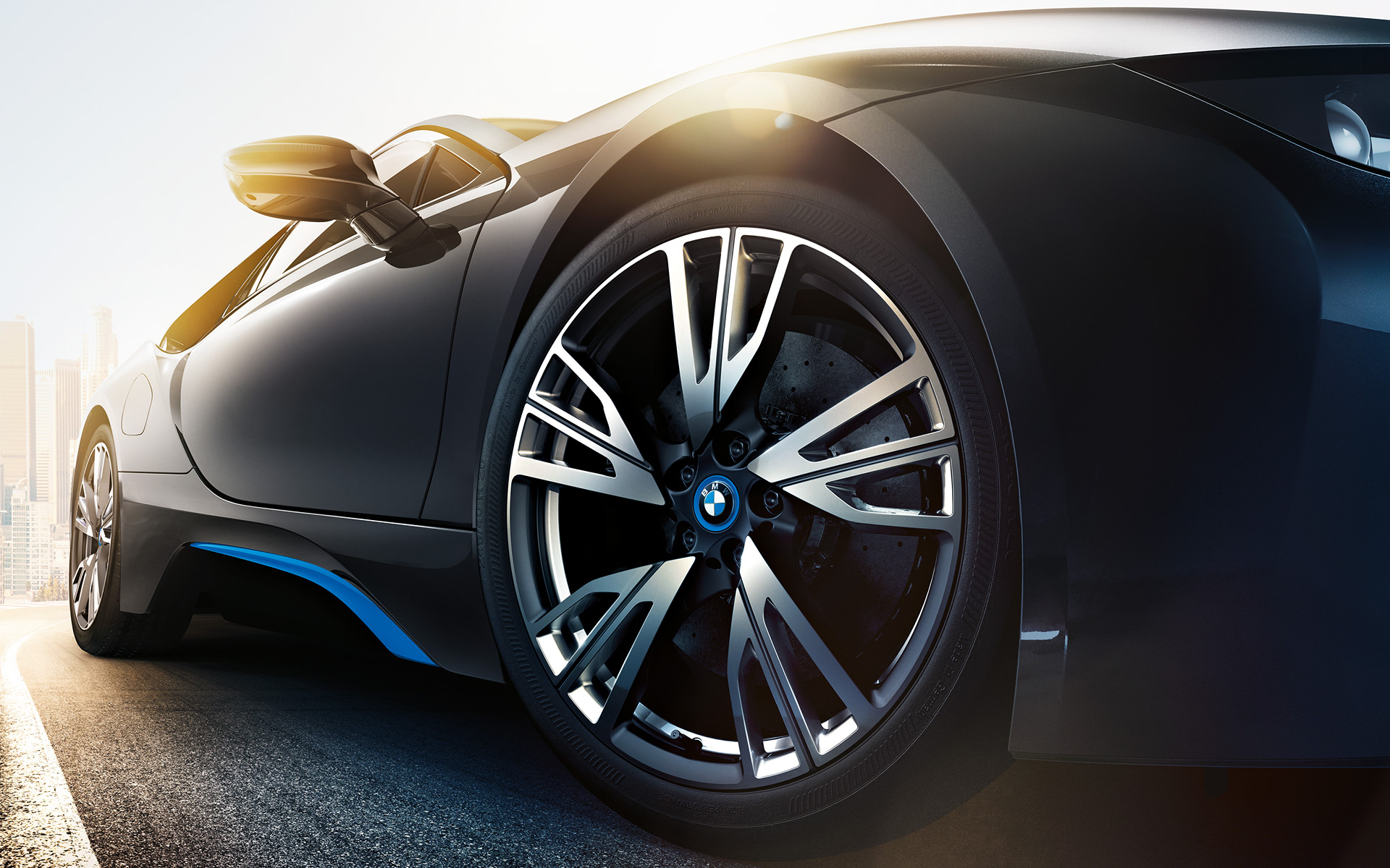 bmw i8 wheels hd wallpaper 64651