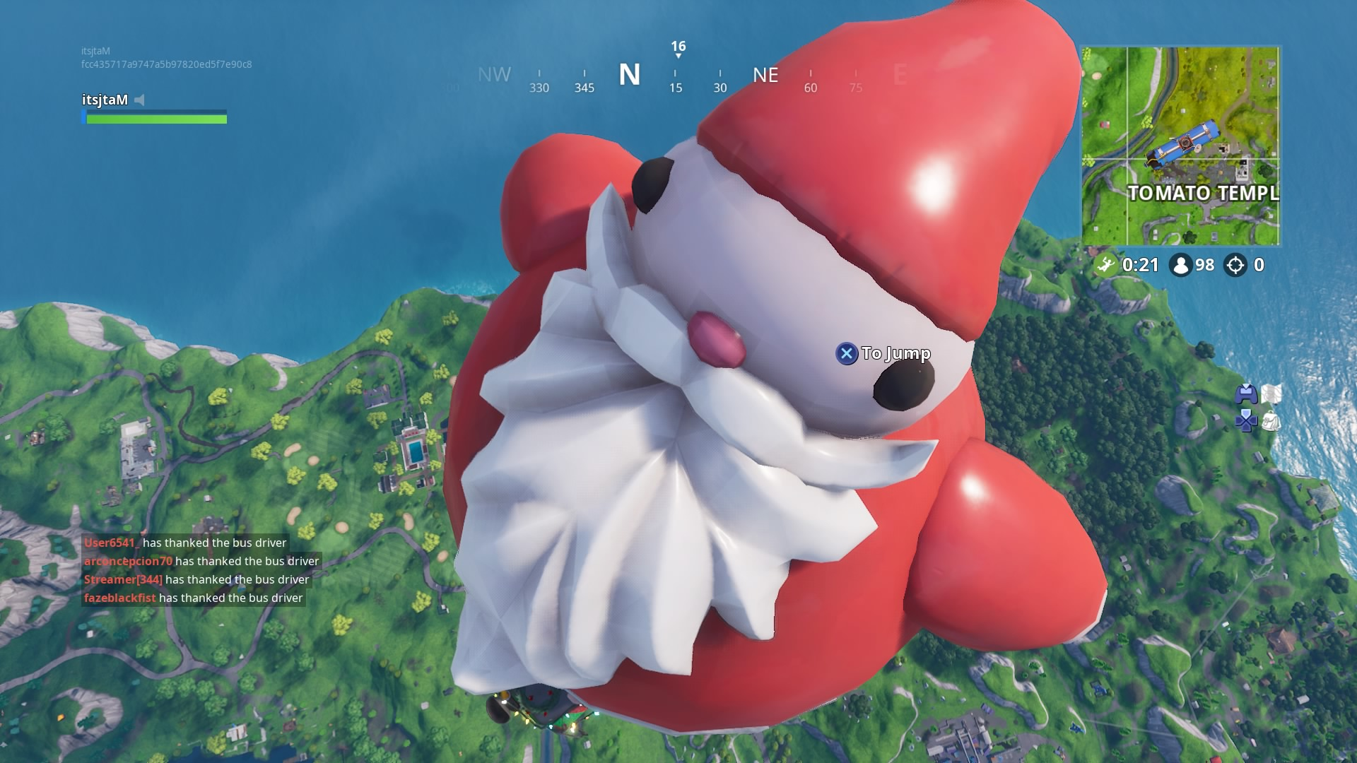 fortnite season 7 santa wallpaper 66488