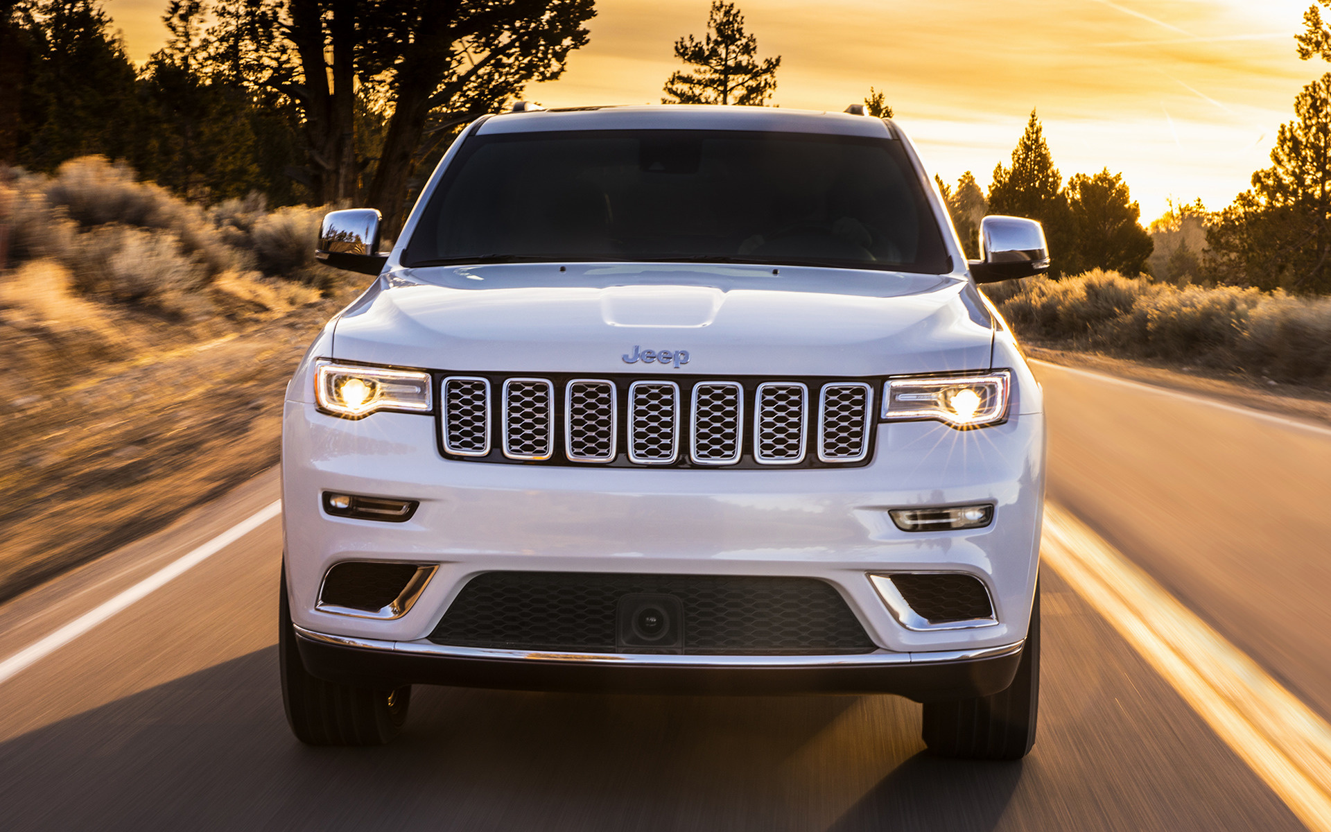 jeep cherokee front view wallpaper 65163