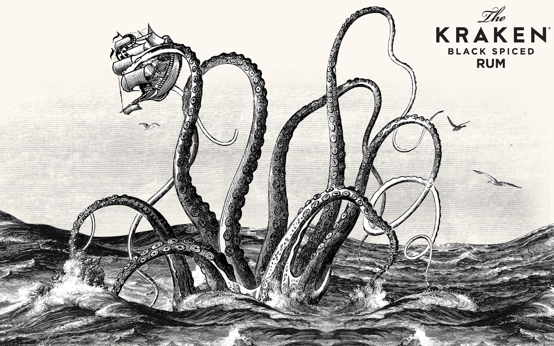 kraken spiced rum wallpaper 66306