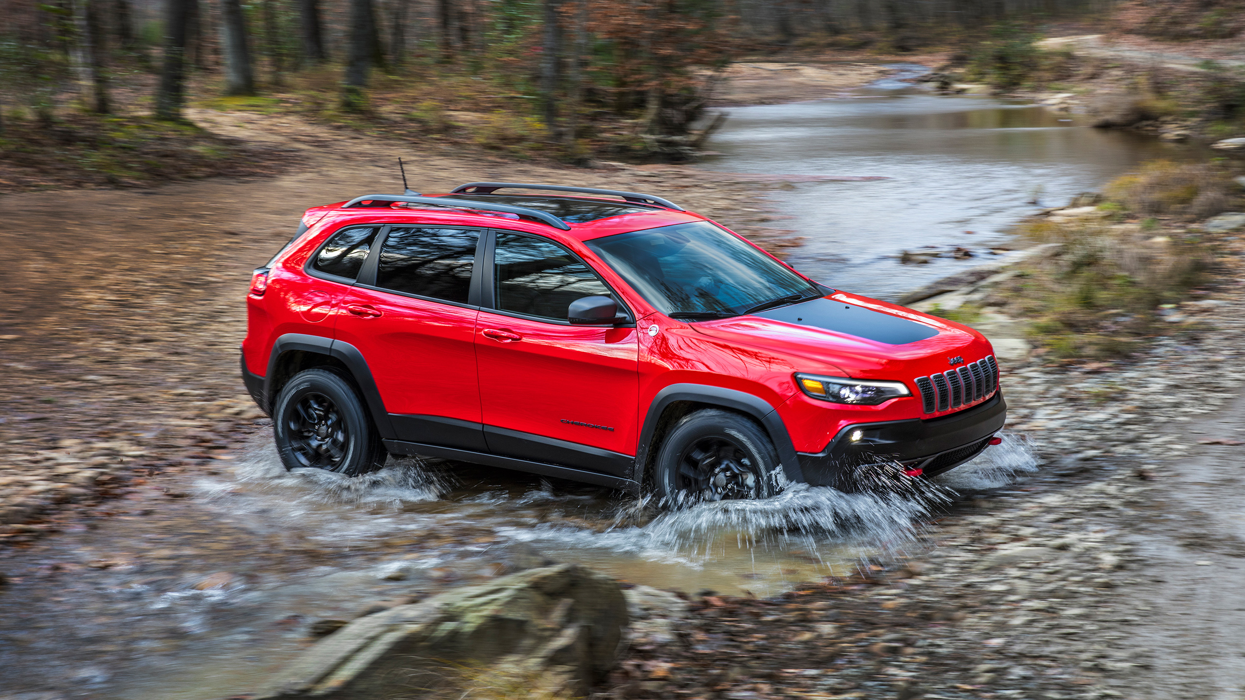 red jeep cherokee background wallpaper 65159