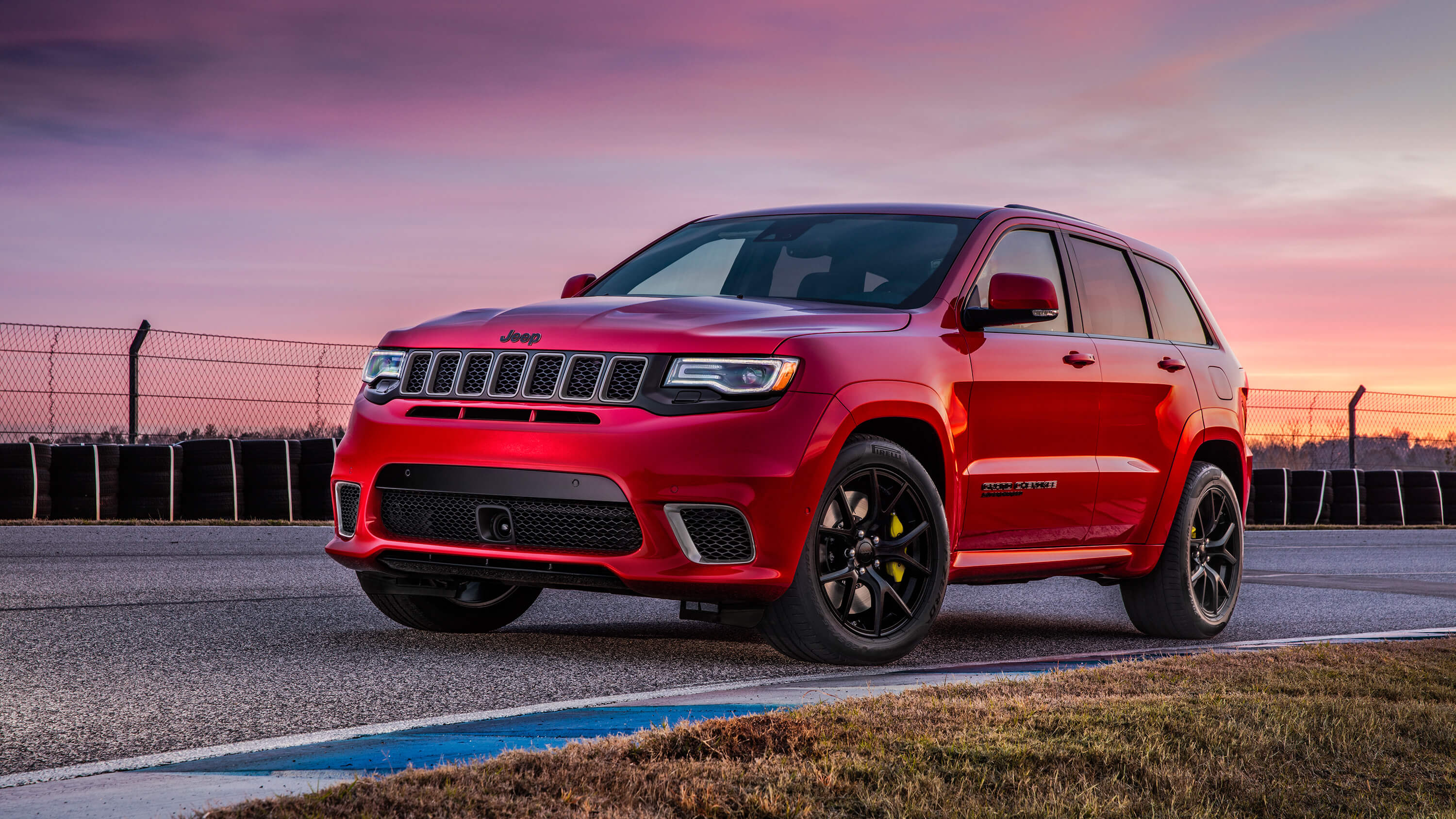 red jeep cherokee widescreen hd wallpaper 65156