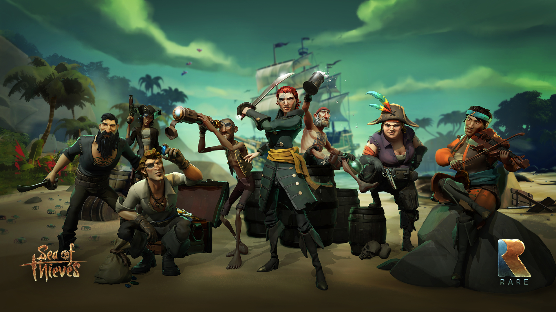 sea of thieves desktop hd wallpaper 62603