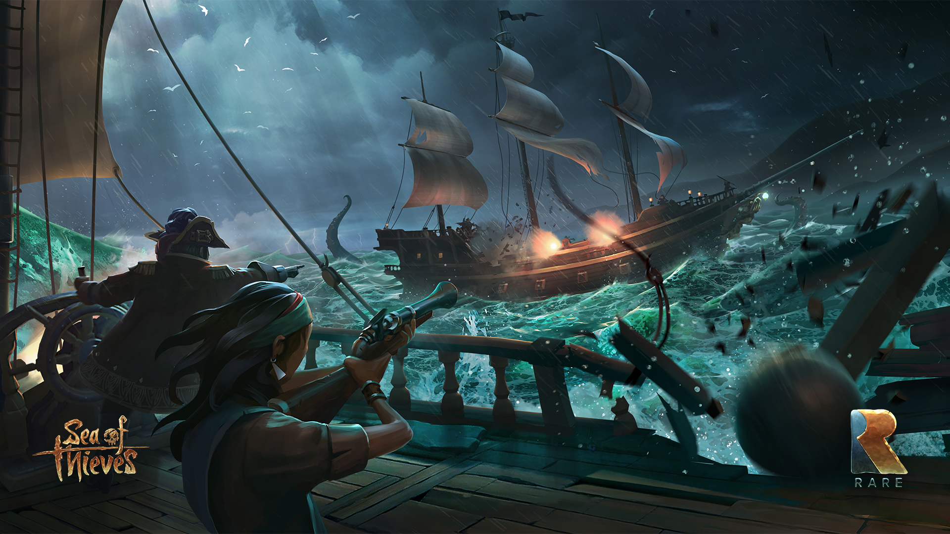 sea of thieves wallpaper 62604