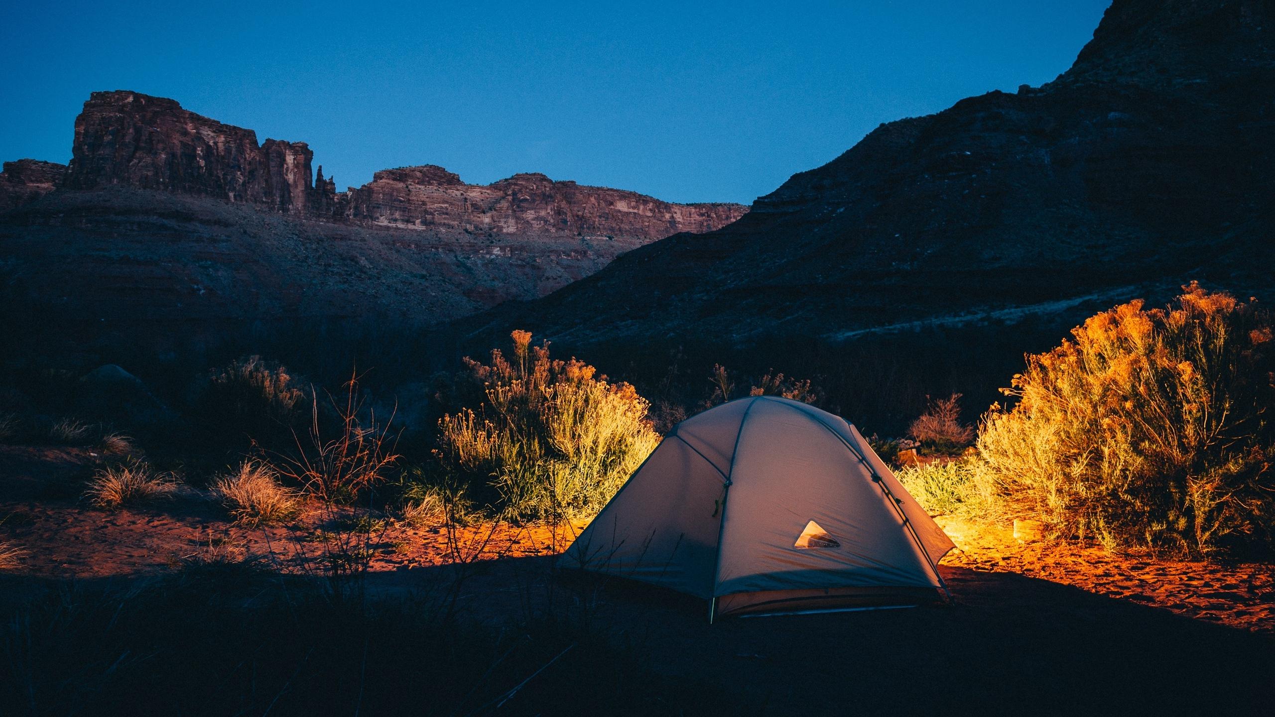tent camping desert wallpaper 65766