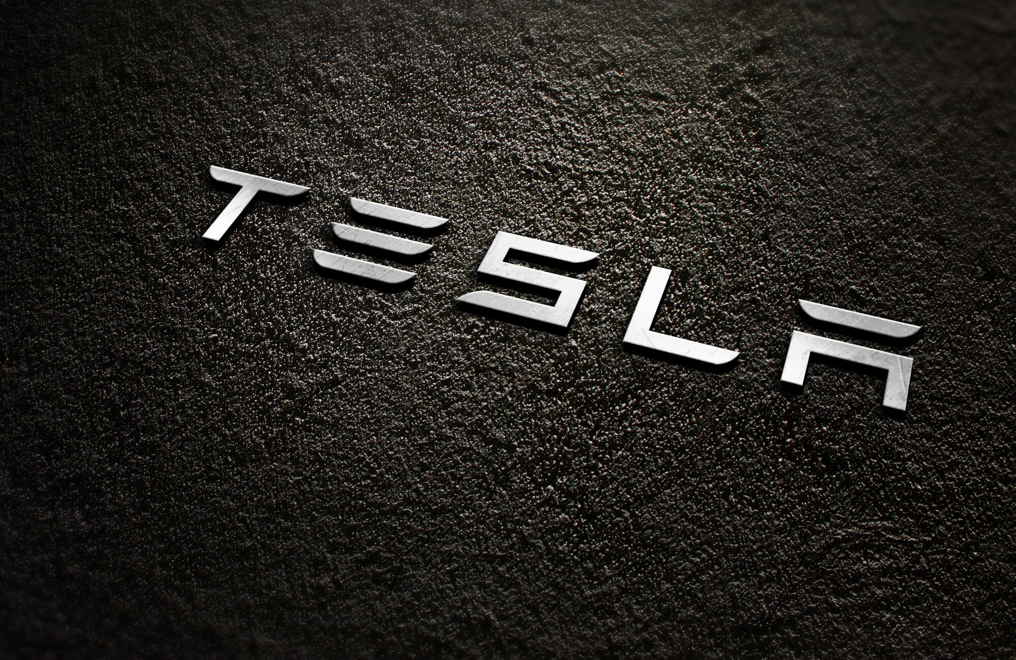 Tesla Text Zoom Background