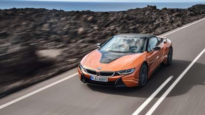 4K BMW i8 Wallpaper 64640