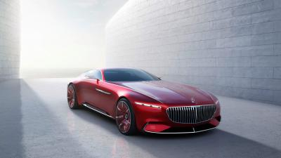 4K Vision Mercedes Maybach Wallpaper 63562