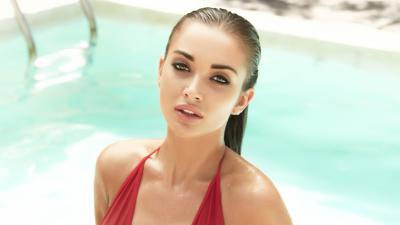 Amy Jackson Model Background Wallpaper 64635