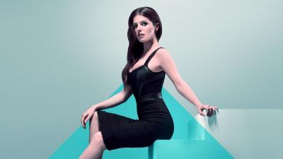 Anna Kendrick Black Dress Wallpaper 65698